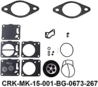 Mikuni Carburetor Rebuild Kit Compatible with Tigershark Monte Carlo Daytona Barracuda 640 BG