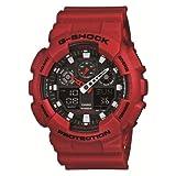[カシオ] 腕時計 ジーショック GA-100B-4AJF レッド