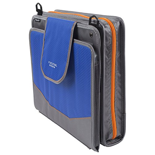 Five Star Sewn Zipper Binder, 2 Inch 3 Ring Binder With 4 Inch Capacity, Assorted Colors, Color Selected For You, 1 Count (28044) Photo #27