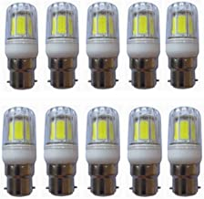 SGJFZD 5W B22 Bayonet LED COB Candle Light Bulb Warm White/Cool White 400LM 40W Incandescent Equivalent Non-dimmable AC20...