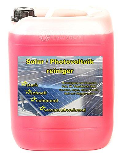 NM-DEPOT 10 L Solaranlagen Reiniger PE 2,90 € = 1 Ltr. Photovoltaik Reiniger Solar Konzentrat