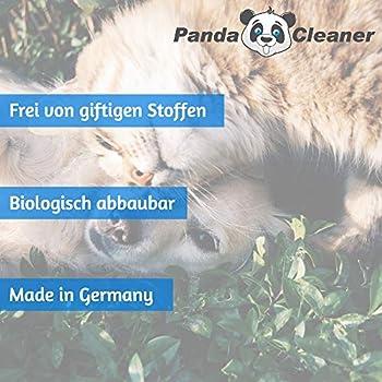 PANDACLEANER Sanacleaner Attacke Bio Urin - Élimination des odeurs Biologique - Désodorisant pour Animaux et Urine - 5000 ML - Désodorisant - Désodorisant - Fabriqué en Allemagne