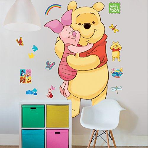 Wandtattoo - Aufkleber - Wanddeko - Große Wandsticker mit Motivwahl (Winnie The Pooh)