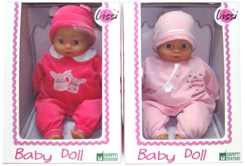 LISSI DOLLS 94300 - Soft Baby, Circa 40 cm, Sortiert