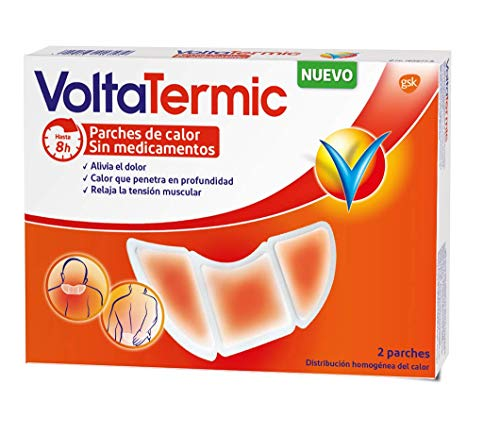 Voltatermic Parches de Calor, 2 parches semicirculares