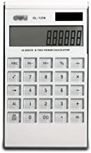 $32 » HJHJ Desktop Calculator 12 Digit Large Display, Solar & Battery Dual Power Basic Calculator for Office/Home/School (White)