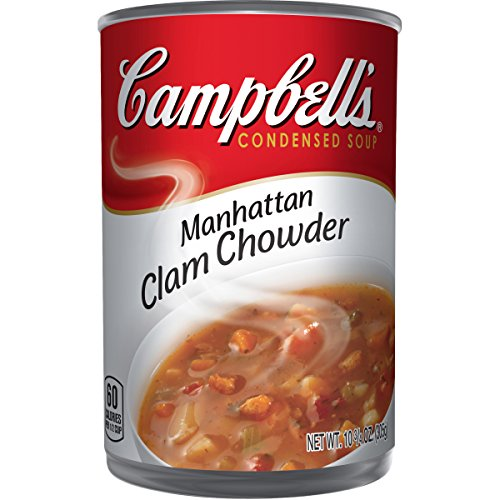 Campbell's Condensed Manhattan Clam Chowder, 10.75 Ounce (Pack of 12)