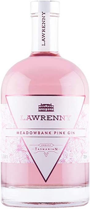 Lawrenny Meadowbank Pink Gin - 700ml