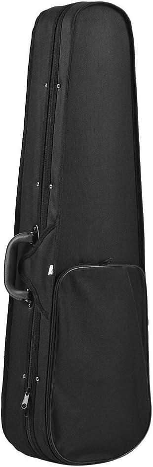 Professional 4//4 Full Size Violon Triangle Shape Case Box Hard /& Super Light avec sangles /épaule Bourgogne