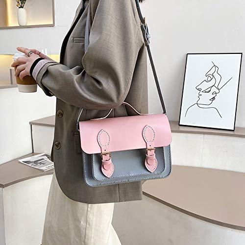 Handgenähte Tasche, um Freundin Honig Geschenk eine Schulter Cambridge Tasche zu senden Großes Pulver fertigE Anpassung