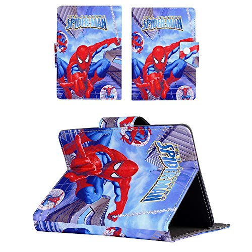 Amazing Spider-man - spiderman hero Universal Case - children kids Tablet Cover / 8' inch Tab - 8' Size compatible with ANY Model Samsung Android Ipad Amazon kindle etc