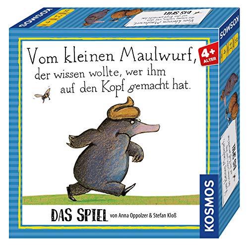 KOSMOS 698683 Vom kleinen Maulwurf, der wissen wollte, wer ihm auf den Kopf gemacht hat, Kinderspiel