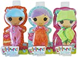 Lalaloopsy Littles Doll Clothes Bundle, Ultimate Fashion Pack Includes (3 Outfits); Pajamas, Hooded Towel, Sleep Sack