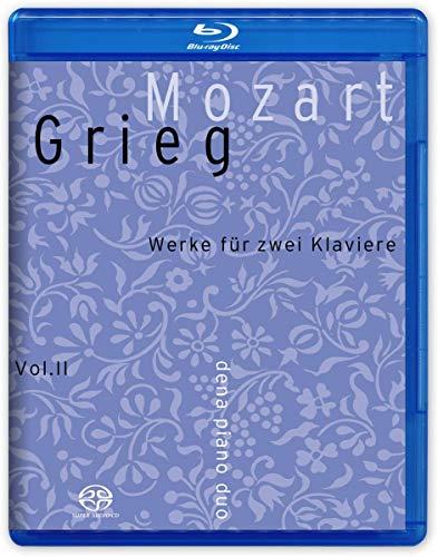 MOZART / GRIEG Werke für zwei Klaviere [Hybrid-SACD + Blu Ray AUDIO]