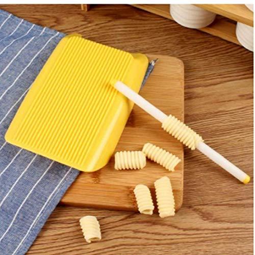 Aisoway ABS-Kunststoff Pasta Makkaroni Vorstand Spaghetti Makkaroni Pasta Gnocchi Maschine Roller Nahrungsergänzungs Moulds Seals Küchenhelfer