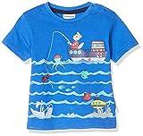 Salt & Pepper Baby-Jungen 03212104 T-Shirt, Blau (Strong Blue 483), (Herstellergröße: 74)