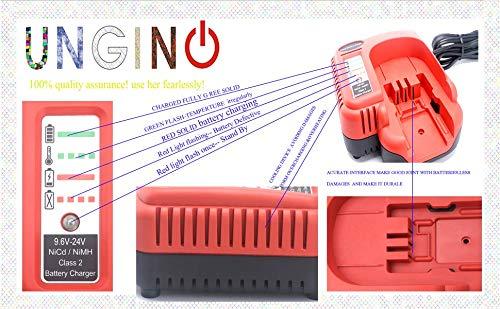 UNGINO FSMVC BDCCN24 7.2V-24V Battery Charger for Black+Decker BDCCN24 BDFC240 for Black /& Decker 18V 14.4V 12V 9.6V 24V NiCD/&NiMH Battery HPB18 HPB14 HPB12 HPB24 Black Decker 18V Battery Charger/…