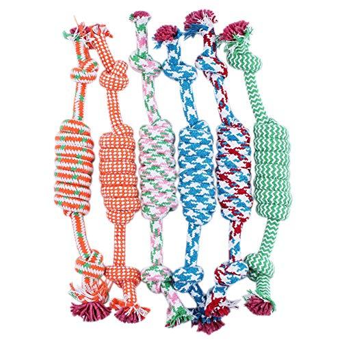 Jouet pour chien Ricisung, jouet pour les dents en laine, 1 pièce, couleur aléatoire, Bone rope, L