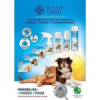 Beaphar - DiméthiCARE, shampooing stop parasites - chien et chat - 200 ml