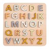 Kids Concept- RompecabezasPuzzles encajables y rompecabezasKids ConceptABC Puzzle Eng, Multicolor (1)