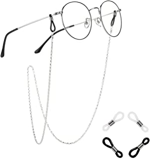 Xiang Ru Eyeglasses Chain Spectacles Sunglass Holder Glasses Cords Strap Eyewear Retainer with Anti-slip Lanyard Rope