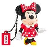 Llave USB 16 GB Minnie Mouse - Memoria Flash Drive 2.0 Original Disney, Tribe FD019502