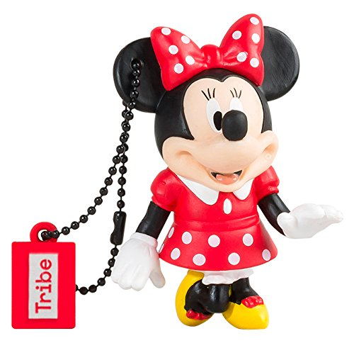 Chiavetta USB 16 GB Minnie Mouse - Memoria Flash Drive 2.0 Originale Disney, Tribe FD019501