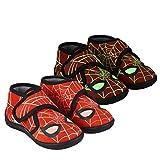 CERDÁ LIFES LITTLE MOMENTS 2300004643_T025-C06, Zapatillas para Casa de Spiderman-Niña-Licencia Oficial Marvel para Niños, Rojo