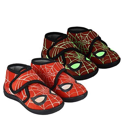 CERDÁ LIFE'S LITTLE MOMENTS 2300004643_T024-C06, Zapatillas para Casa de Spiderman-Niña-Licencia Oficial Marvel...