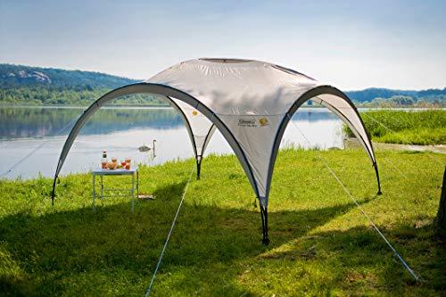 Coleman Event Shelter Pavillon, Regen- und Sonnenschutz Gartenpavillon für Partys, Strände, Festivals, Sportveranstaltungen oder Campingplätze, Stabile Stahlstangen Konstruktion, Hoher UV- Schutz - 2
