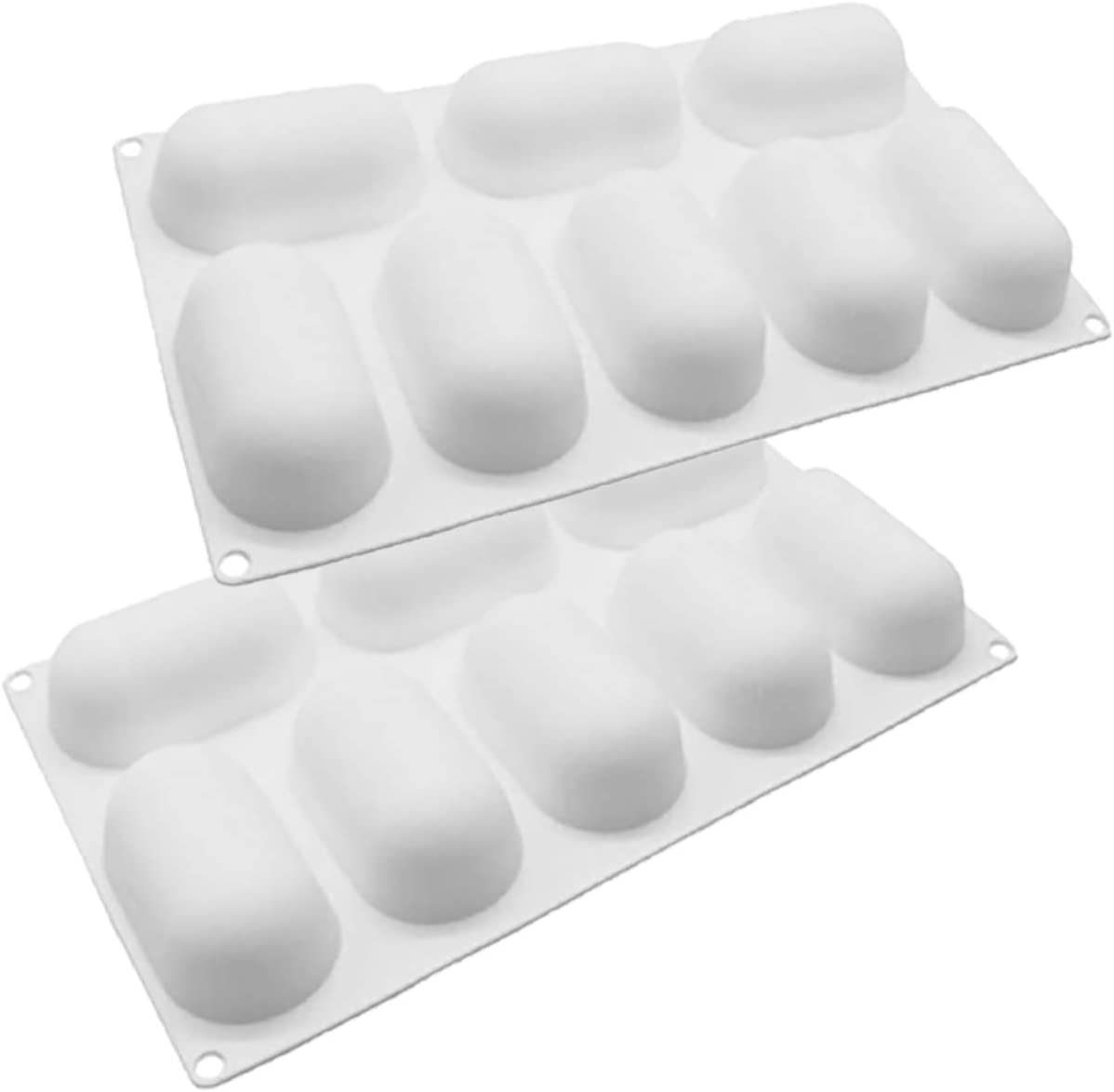 Mousse Cake Mold 8 Small Oval 3D Pillow Special price for a limited time Price reduction Silicone Capsule