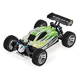 GoolRC Coche WLtoys A959-B, 70KM / h de Alta Velocidad 2.4G 1/18 Escala 4WD Coche eléctrico RTR Buggy RC para niños Adultos