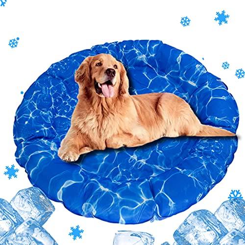 ペット ひんやりマット 冷却シート 犬 ワンちゃんの体温を下げる 人猫犬用クールマット やペット用無毒ジェ...