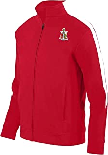 red and white kappa jacket