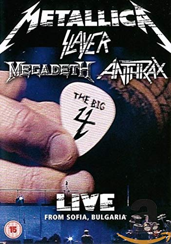 The Big Four - Live from Sofia, Bulgaria [2 DVDs]