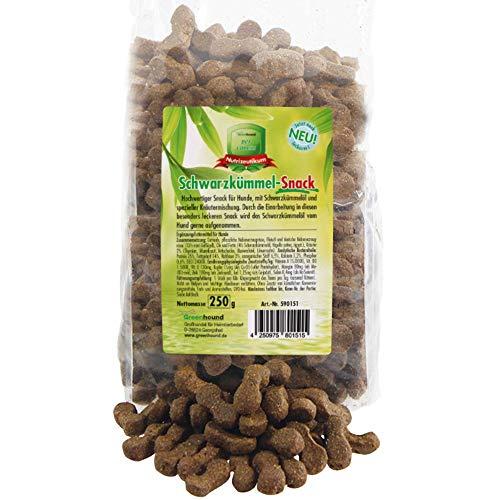 Greenhound Schwarzkümmel Snack 3 x 250 g hochwertiger Snack