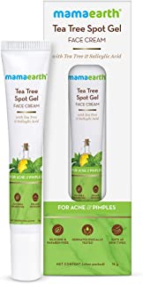 Mamaearth Tea Tree Spot Gel Pimple Removal Face Cream with Tea Tree & Salicylic Acid For Acne & Pimples – 15 g