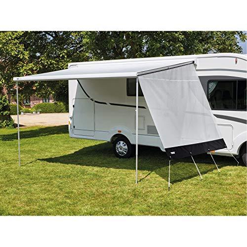 Thule Sun Blocker G2 Pared lateral Medium 2,75, protección solar para caravana, camping, toldo de privacidad, gris