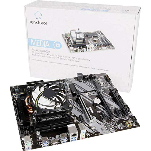 Renkforce - Kit de Tuning para PC Multimedia Intel Core i5 i5-9600K 6 x 3.7 GHz 8 GB Intel UHD Graphics 630 ATX