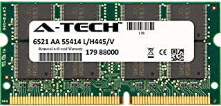 A-Tech 256MB STICK For Toshiba Toshiba Satellite 1800-A512 1800-HV9 1800-HVP 1800-S100 1800-S200 1800-S203 1800-S204 1800-S207 1800-S245 1800-S253 1800-S254. SO-DIMM SD NON-ECC PC100 100MHz RAM Memory