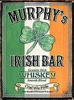Murphy's Irish Bar 金属板ブリキ看板警告サイン注意サイン表示パネル情報サイン金属安全サイン