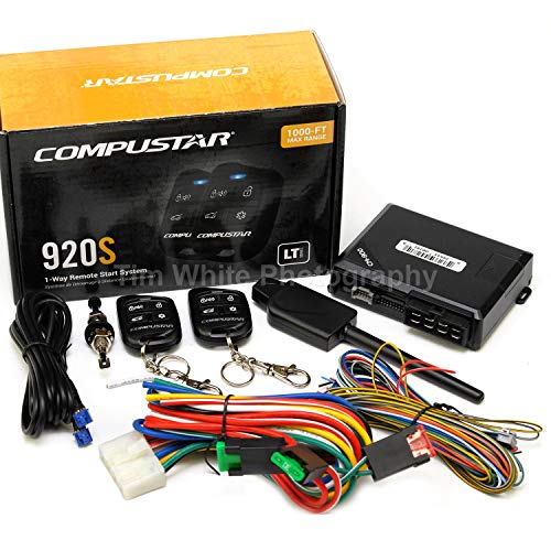 Compustar CS920-S (920S) 1-way Remote Start and Keyless Entry System with 1000-ft Range