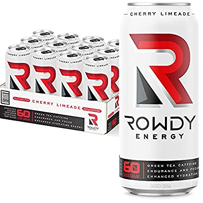 Amazon - 10% Off on Rowdy Energy, Cotton Candy, Sugar Free Energy Drink