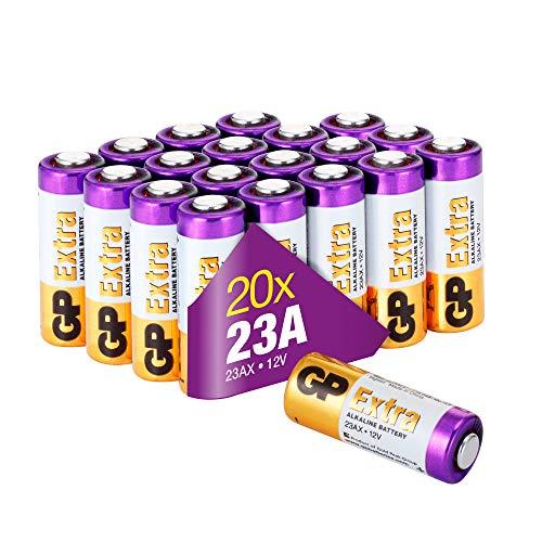 GP Extra Alkaline batterijen 23A batterij 12V - 20 pack