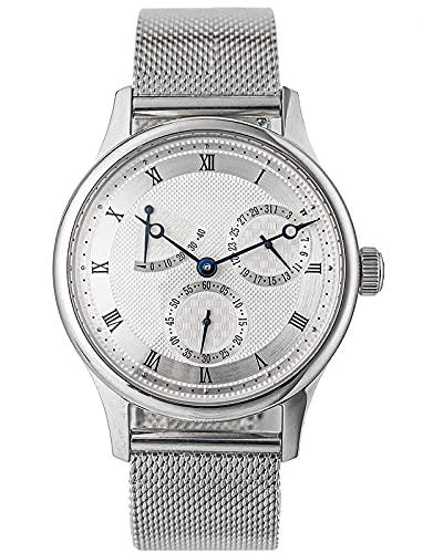 Sugess 40mm Paris Nail Microhyla Pequeña Segunda Gaviota ST1780 Movimiento mecánico Vintage Reloj SU1780J1 1963