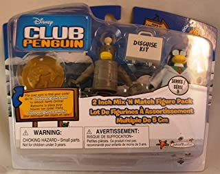 Club Penguin: 2 Inch Mix 'N Match Series 9 Figure Pack - Gary the Gadget Guy