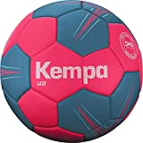 Kempa Leo-Ballons de Handball Taille 2 Adulte Unisexe, Corail/Gris Lilas, 2