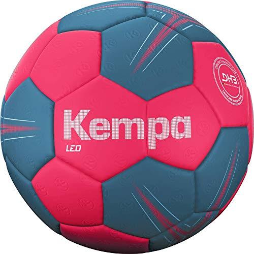 Kempa Unisex– Erwachsene LEO Handball, Ball, Orange/Grau, 2