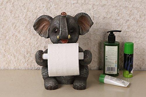 Cute Desktop Vertical Porte-serviettes en papier ménager Creative Toilet Toilet Roll Holder Restaurant Fournitures de cuisine Free Hole (style : 21 * 19 * 36cm)