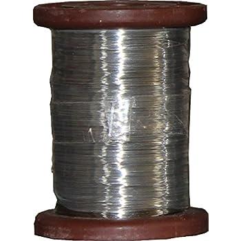 Wabendraht Rolle Edelstahl 1 KG Durchmesser 0,5 mm Imker Rähmchen